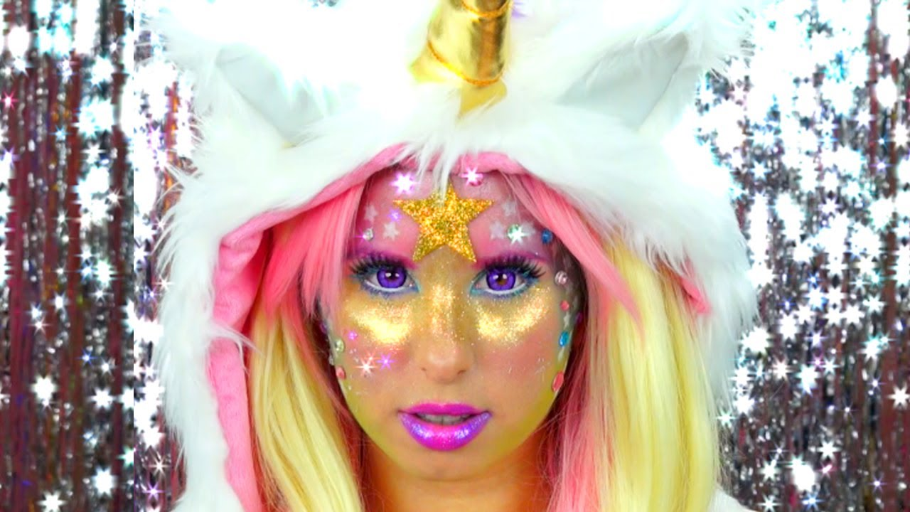 Magical Unicorn Makeup! - YouTube