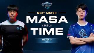 MaSa vs TIME TvT - Match 3 Finals - WCS Winter Americas