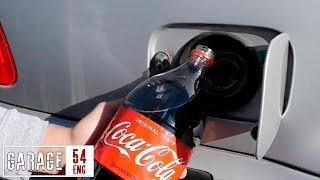 What happens when you pour Coca-Cola into your fuel tank?