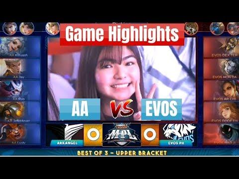 [Highlights] ArkAngel Vs EVOS PH (AA Vs EVOS) MPL-PH Season 3 Mobile Legends
