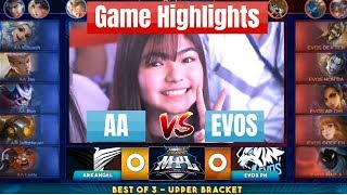 [Highlights] ArkAngel vs EVOS PH (AA vs EVOS) MPL-PH Season 3 Mobile Legends