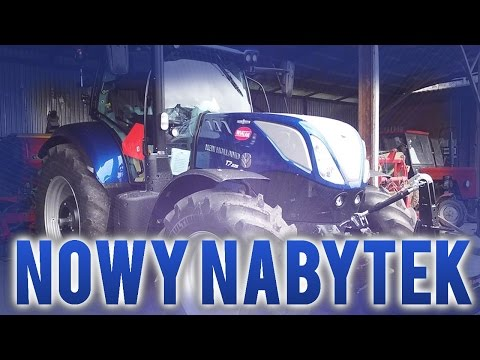 NOWY NABYTEK 2017 ! New Holland T7.225 BluePower AutoCommand ! GR Lubera