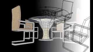 Eco Dining Table Irr Concept Uin Suska Riau Indisco6