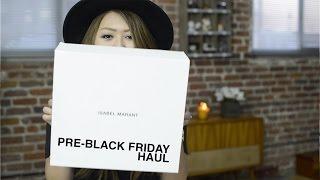 PRE BLACK FRIDAY HAUL - Isabel Marant, Alexander Wang, H&M, Urban Outfitters, Shu Uemura Thumbnail