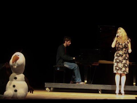 Livre estou (Let it go, portugueses version) ao vivo, taryn szpilman- AP 2015