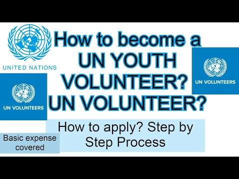 How To Become A UN YOUTH VOLUNTEER? | UN VOLUNTEER?