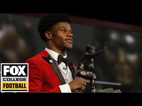 Heisman winner Lamar Jackson sits down with Matt Leinart | FOX COLLEGE FOOTBALL