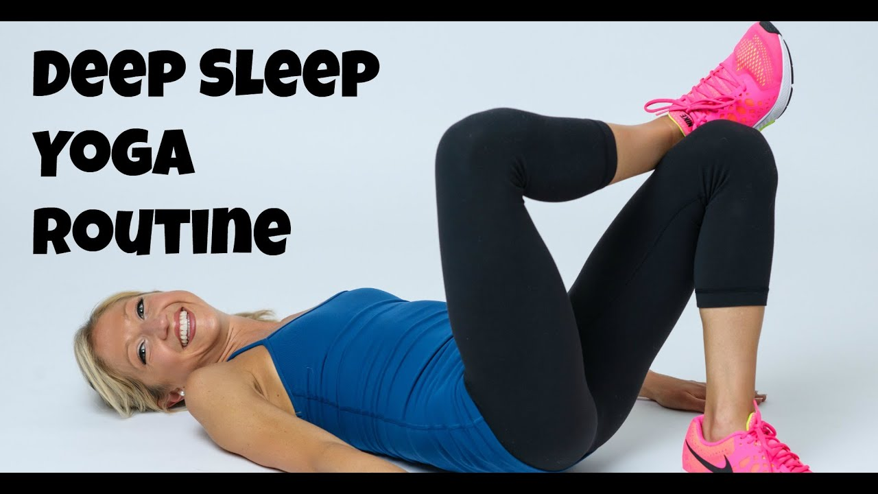 Deep Sleep Relaxation Yoga Routine for Anxiety, Stress, and Quality REST.