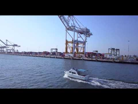 Drone Oakland, California: Port of Oakland Vol. 3