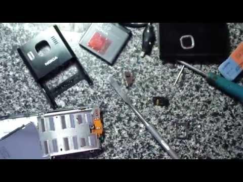 Nokia 6500 Замена динамика