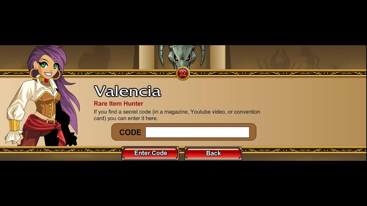 AQW : New Valencia Code 2013 - YouTube