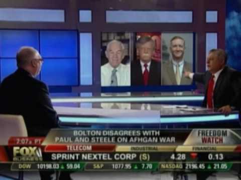 Chris Preble, Ron Paul and John Bolton discuss Afghanistan
