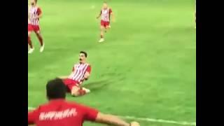 Ολυμπιακός - Λεβαδειακός 1-0. Το γκολ του Λαζάρου Χριστόδουλοπουλου από την εξέδρα