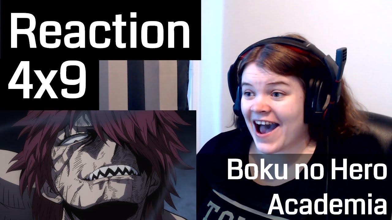 Boku no Hero Academia Season 4 Episode 9 Reaction - YouTube