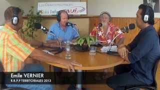 "ITV EMILE VERNIER ""RRPP"" TERRITORIALES 2013 TAH TAUIFM 21 MARS 2013"