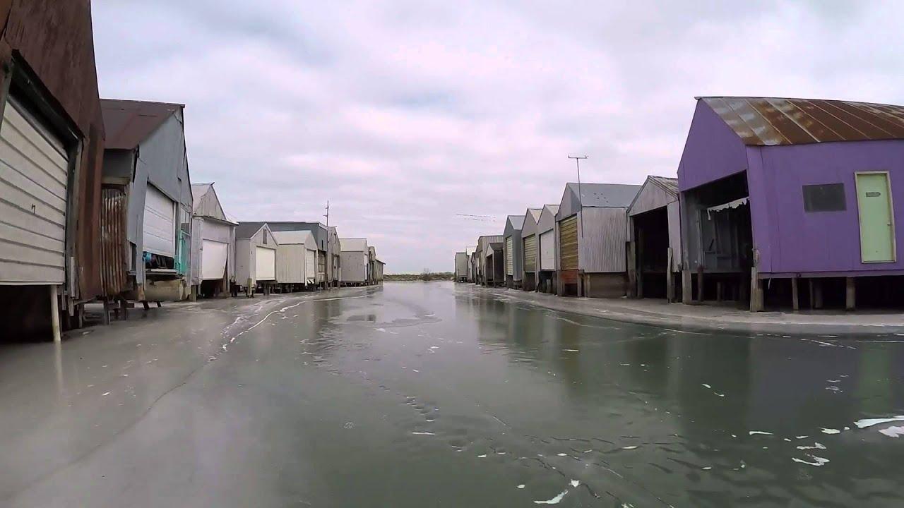 Sandusky bay frozen youtube for Sandusky bay fishing