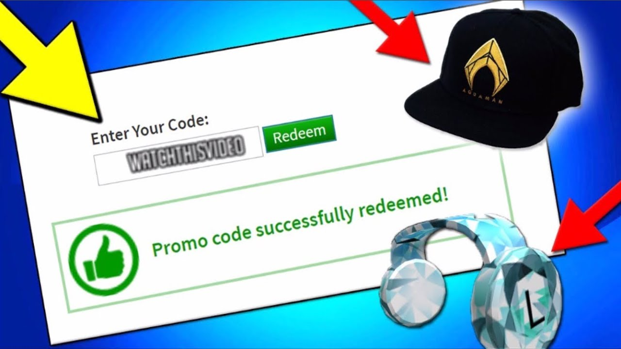 2 *INSANE* ROBLOX PROMO CODES! 2019 - YouTube on Promo Code Roblox id=29998