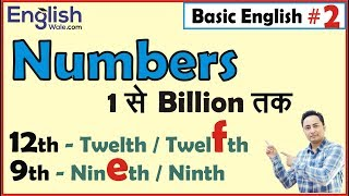 English में Numbers | Basic English Speaking & Grammar Lesson for Beginners