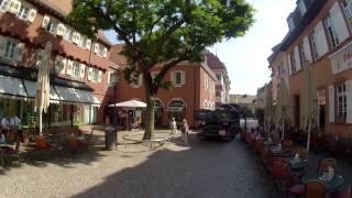 Путевые Заметки. Германия, июнь 2013: прогулка по маленькому средневековому городку Эттлинген