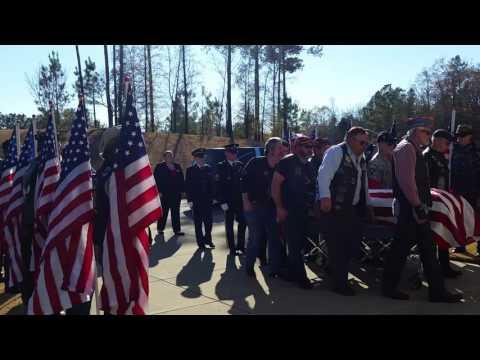 Funeral for homeless veteran