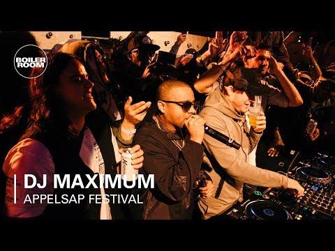 DJ Maximum | Boiler Room x Appelsap 2018