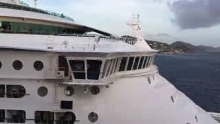 Cruise Ship Horn Battle!
