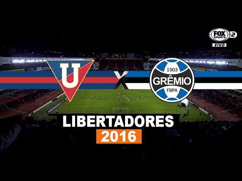 Gols - LDU 2 x 3 Grêmio - Copa Libertadores 2016 - 13/04/2016 - Futebol HD
