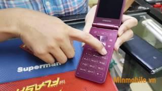 Trên tay Samsung Folder 2 - Minmobile