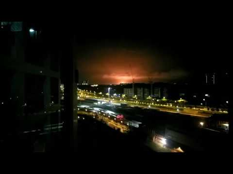Seletar Airport Fire or Incineration Plant