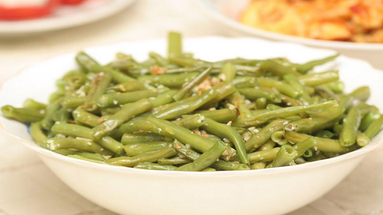 Зелёная стручковая фасоль с овощами | Добрые рецепты - YouTube