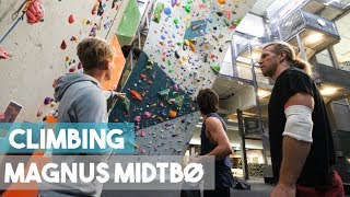1 Year In The Making - Magnus Midtbø - Climbing And Exploring The Gym