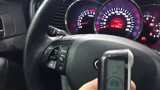 Видео - обзор сигнализации СтарЛайн А93 с автозапуском, установка на автомобиль КИА Оптима
