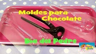 Moldes de Chocolate para el Día del Padre