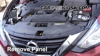 Nissan Altima 2013-2018 Headlight Housing and Bumper Removal