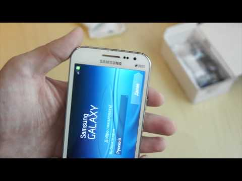 Распаковка Samsung Galaxy Win GT-I8552