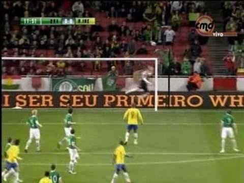 Brazil vs Ireland 2-0 Friendly 2010  Full Highlights & Goals ROBINHO