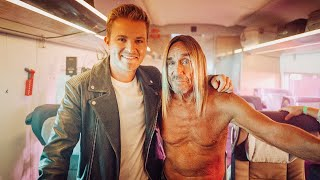 I JUST MET ROCK LEGEND IGGY POP ON A TRAIN  NICO ROSBERG  VLOG