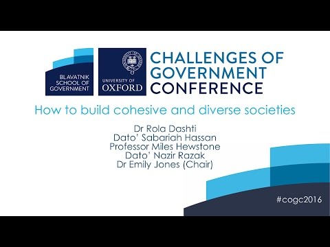 How to build cohesive and diverse societies