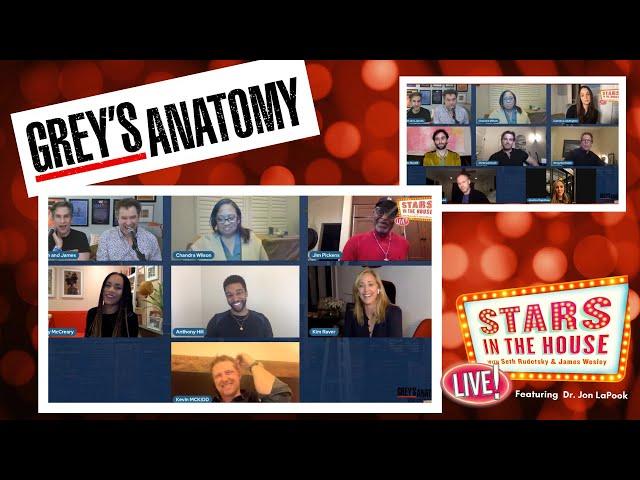 GREY\'S ANATOMY Reunion with Chandra Wilson, Camilla Luddington + more!   Stars in the House 1/14