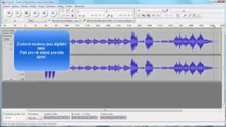 Audacity - Záznam a úprava zvuku