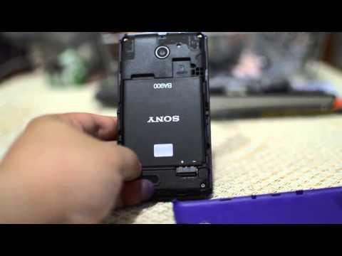 Review Sony Xperia E1 Dual Impresi Desain dan Material
