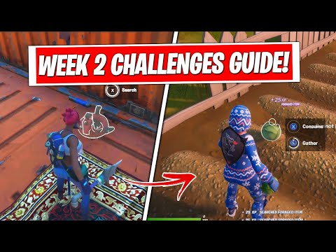 Fortnite Season 3 Week 2 Challenges Guide & Locations! (FULL CHALLENGES FAST & EASY)