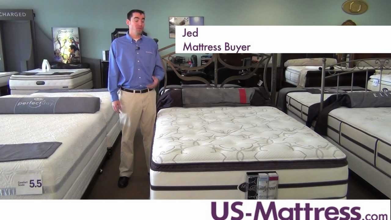 Simmons Beautyrest Elite Palisades Park Plush Pillow Top Mattress