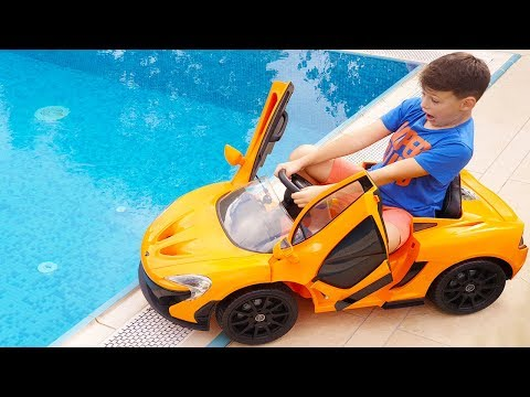 Ali's new Power Wheels Ride on Toy Car Magic Wind, for Kids