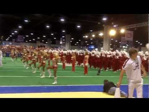 Million Dollar Band at SEC Fanfare Atlanta, GA Dec.1,2012 Part 3 of 3