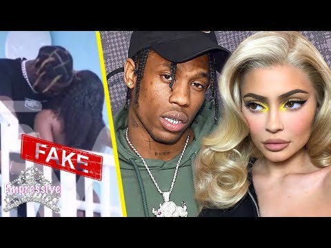 Travis Scott did NOT cheat on Kylie Jenner | This viral photo is fake! Mp3