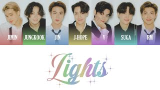 Download BTS (방탄소년단) - Lights Color Coded Lyrics