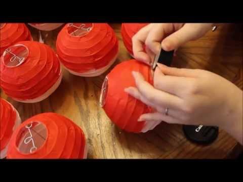 PokeBall Lanterns⎮Birthday Craft Project