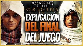 Assassin's Creed Origins   EXPLICACIÓN del FINAL del JUEGO (ENDING)   Análisis