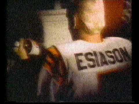 Diet Coke advert featuring Bengals QB Boomer Esias...